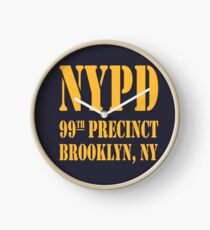 NYPD BROOKLYN 99th PRECINCT NEW YORK Clock