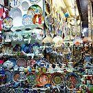 Plenty Of Plates - Grand Bazaar Istanbul by Deirdreb