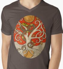 Serpent Tree Tee Mens V-Neck T-Shirt