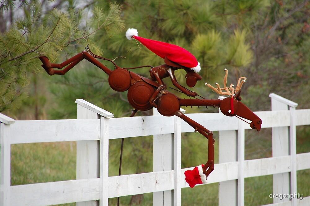 run,run santa! by dragonphly