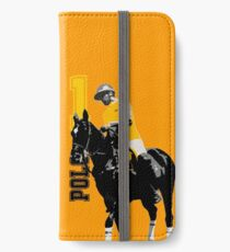 poloplayer 1 yellow iPhone Flip-Case/Hülle/Skin