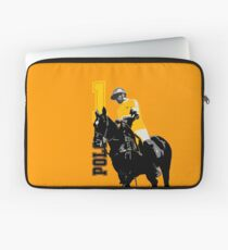 polo player 1 yellow Laptop Sleeve