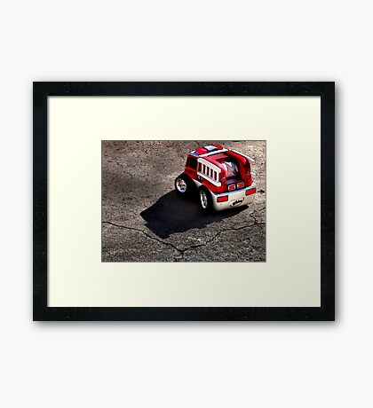 The Little Engine That Could Framed Print