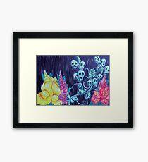 Floral Hellscape I Framed Print