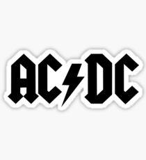 Pegatina Cosas de AC / DC