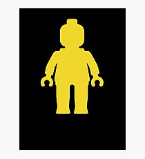 Minifig [Yellow]  Photographic Print
