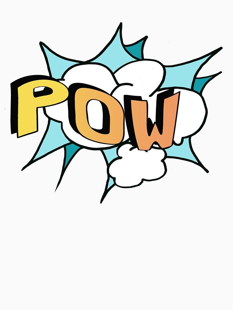 POW Personal Superhero Logo by Rightbrainwoman