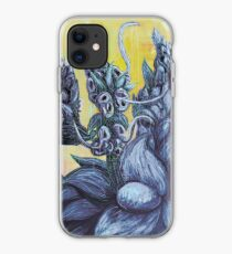 Floral Hellscape III iPhone Case