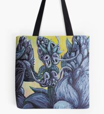 Floral Hellscape III Tote Bag