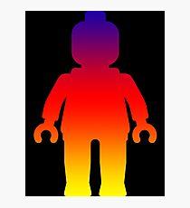 Minifig [Large Rainbow 2]  Photographic Print
