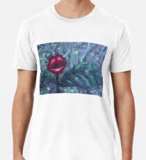 Blumenlandschaft Hellscape IV Männer Premium T-Shirts