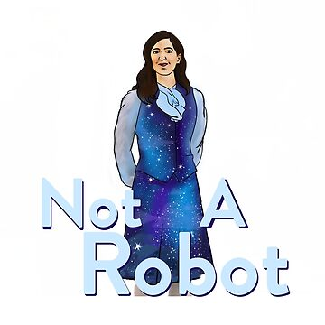 THE GOOD PLACE - JANET - NOT A ROBOT by nerd-girl-art