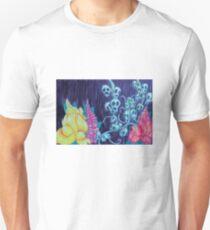 Floral Hellscape I Slim Fit T-Shirt