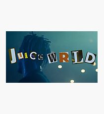 juice wrld Photographic Print