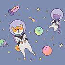 Buddies in Space by raediocloud