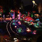 Night in the Sunken Garden(2) by George Cousins