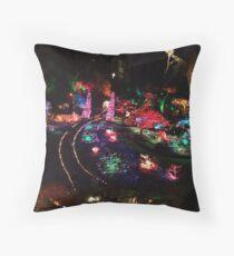 Night in the Sunken Garden(2) Throw Pillow