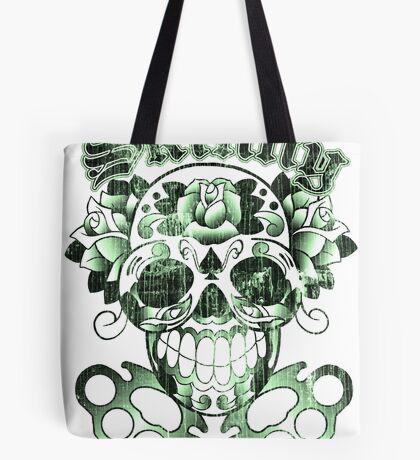 Wisconsin Skinny Sugar Skull Tote Bag
