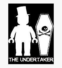 """THE UNDERTAKER""  Photographic Print"