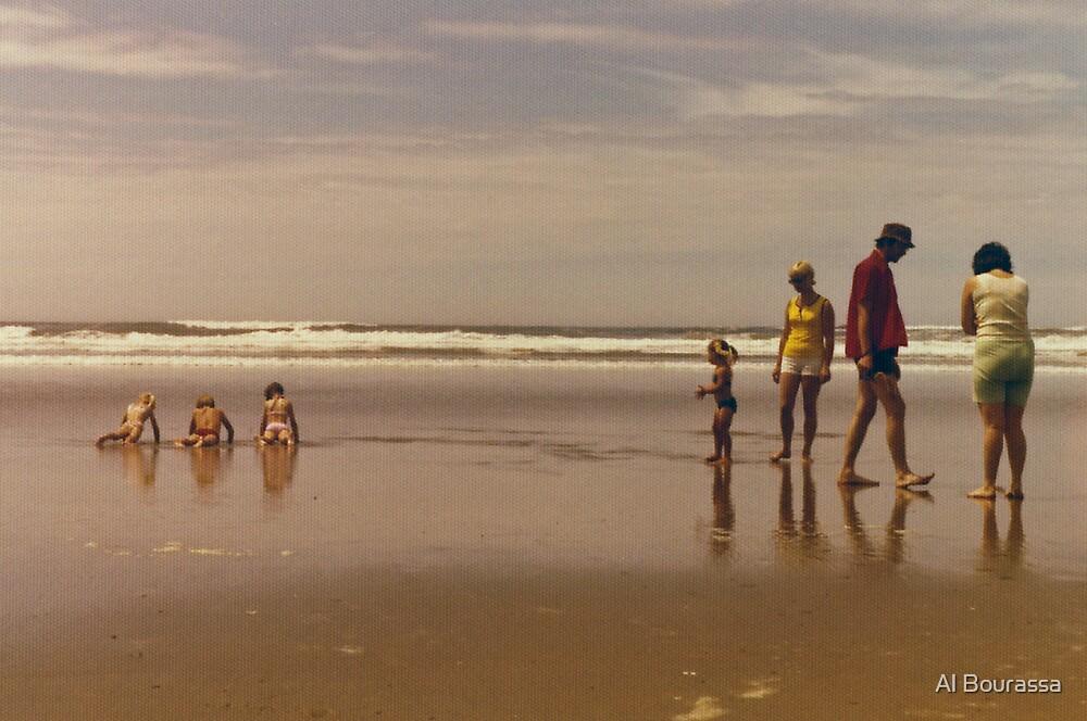 Ocean Play 1976 by Al Bourassa