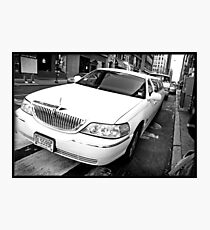 Uptown Limousine Photographic Print