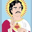 Pablo Escobar the holy, Narcos by cemolamli