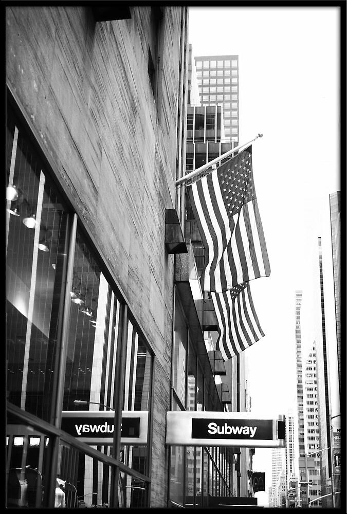 American Subway by Rdestruction