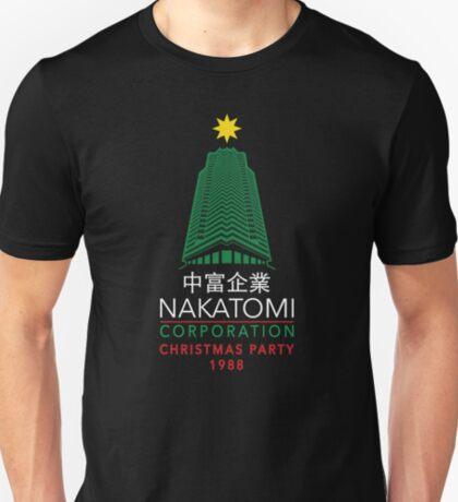 Weihnachtsparty-Turm der Nakatomi Corporation T-Shirt