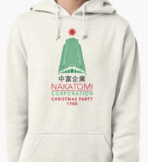 Nakatomi Corporation Christmas Party Tower Variant Pullover Hoodie