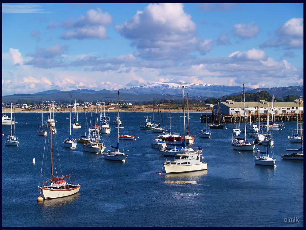 Monterey Bay Port in Winter Months by olmik