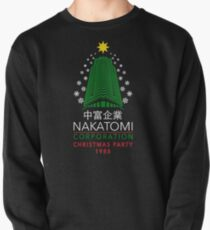 Nakatomi Corporation Christmas Party Snowflake Tower Pullover