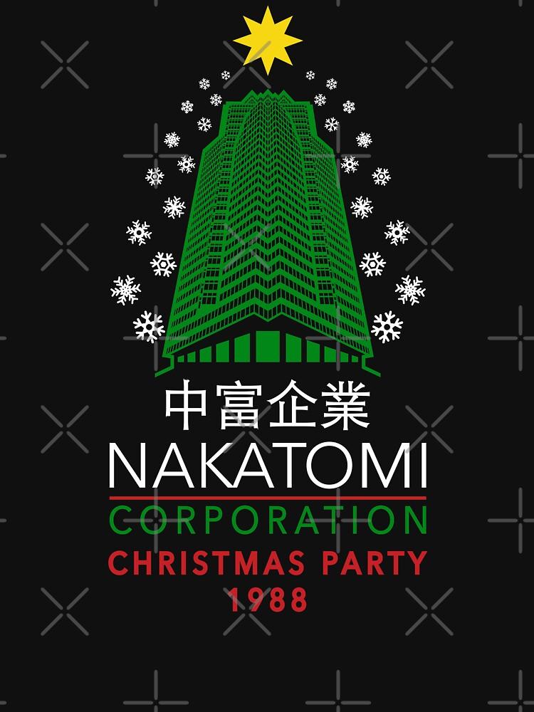 Nakatomi Corporation Weihnachtsfeier Snowflake Tower von Purakushi