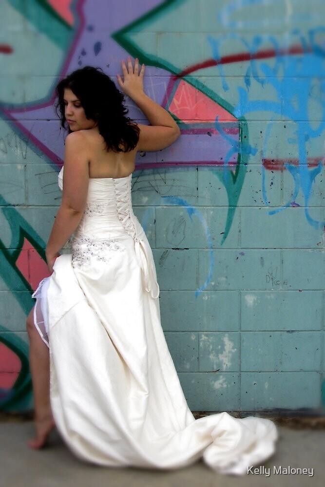 cheeky bride by Kelly Maloney