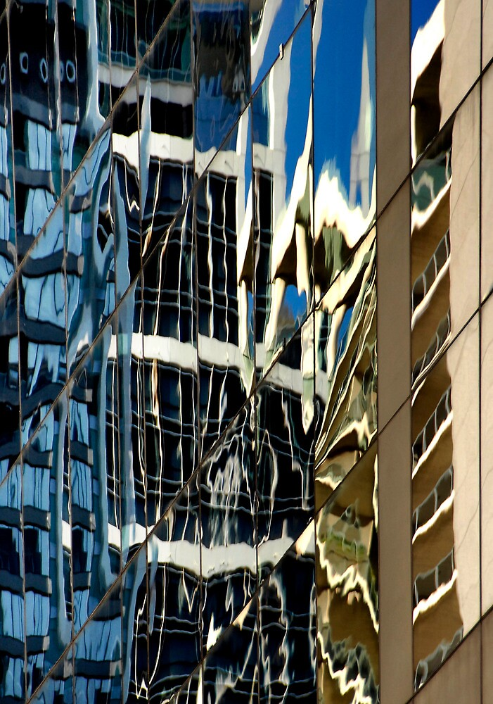 Sydney Building Reflection 52 by luvdusty