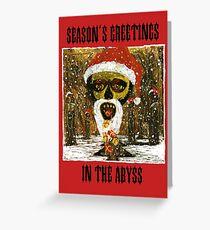 Seasons Greetings - Parody Christmas Card Greeting Card