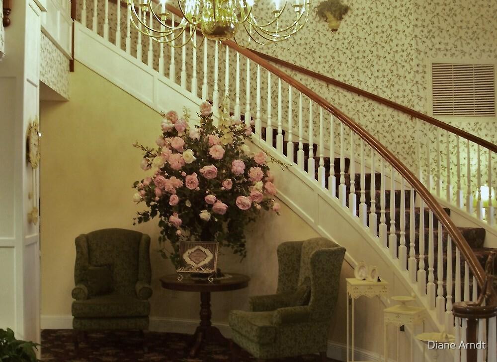 Ashley Inn.....Staircase by Diane Arndt