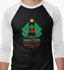 Nakatomi Corporation - Christmas Party Men's Baseball ¾ T-Shirt