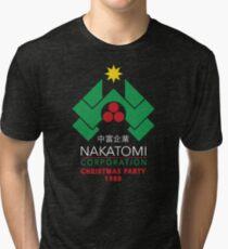 Nakatomi Corporation - Christmas Party Tri-blend T-Shirt