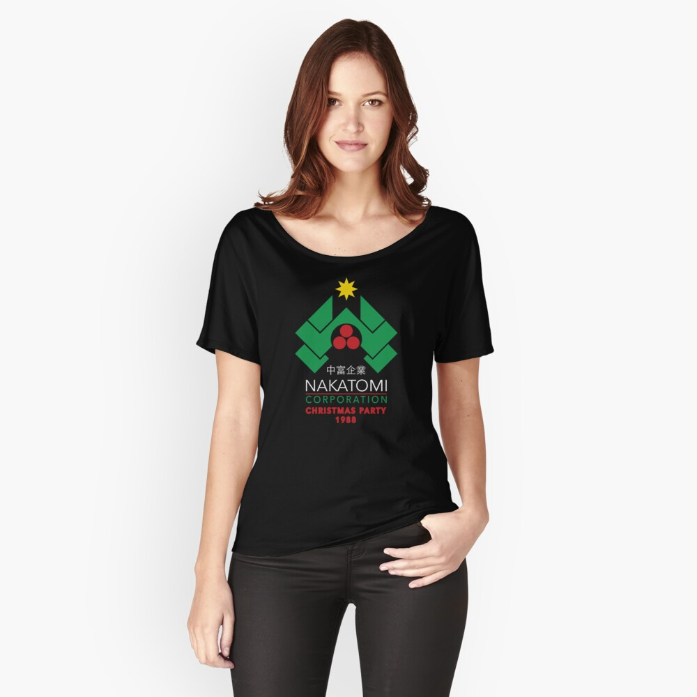 Nakatomi Corporation - Christmas Party Relaxed Fit T-Shirt