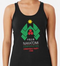 Nakatomi Corporation - Christmas Party Racerback Tank Top