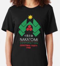 Camiseta ajustada Nakatomi Corporation - Fiesta de Navidad