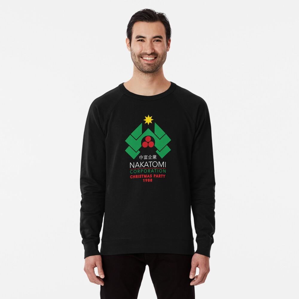 Nakatomi Corporation - Christmas Party Lightweight Sweatshirt