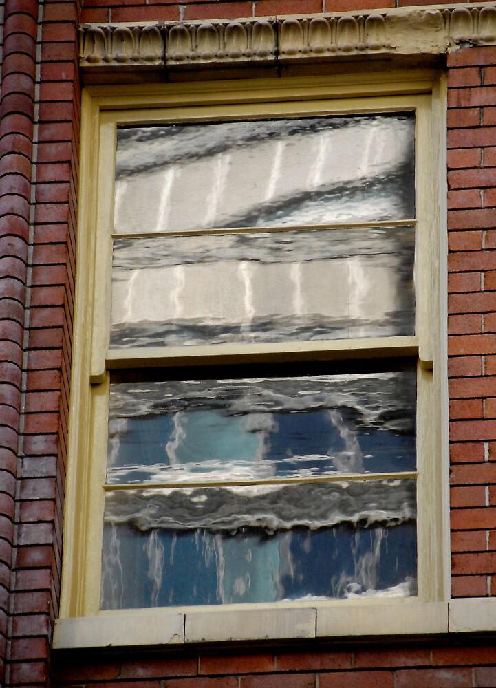Sydney Building Reflection 56 by luvdusty