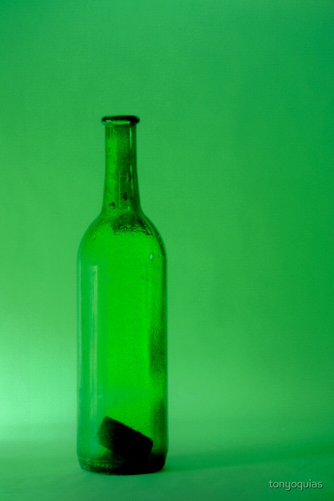 Green Bottle by tonyoquias