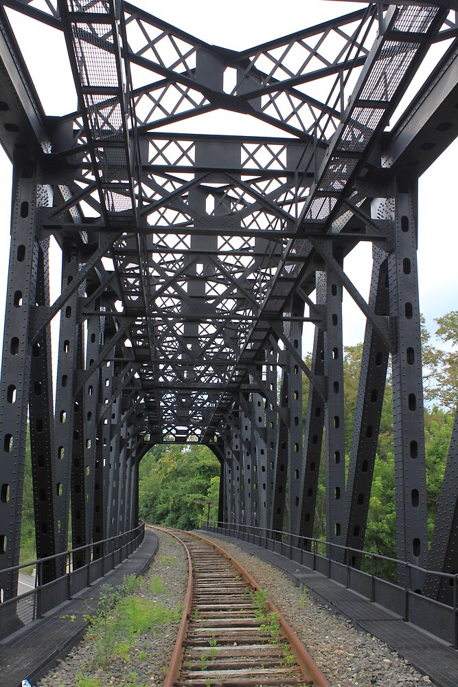 Railway Bridge -- Beaver County, PA by modernmana
