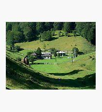 an inspiring Romania landscape Photographic Print