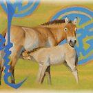 """""""Foal"""" by Susan Fox"""