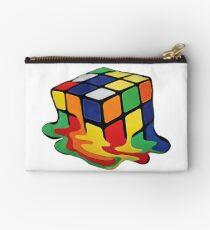 Rubik's Cube - Surrealism Zipper Pouch