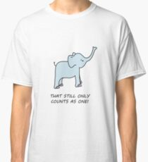 cute LOTR inspired elephant Classic T-Shirt