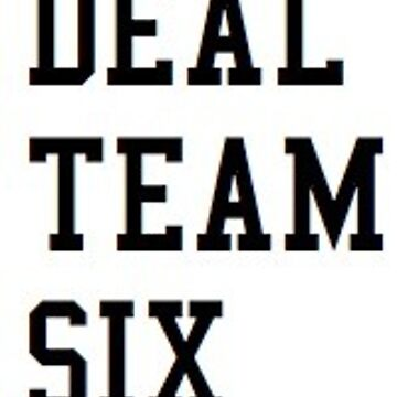 Deal Team Six de carolinepvoigt